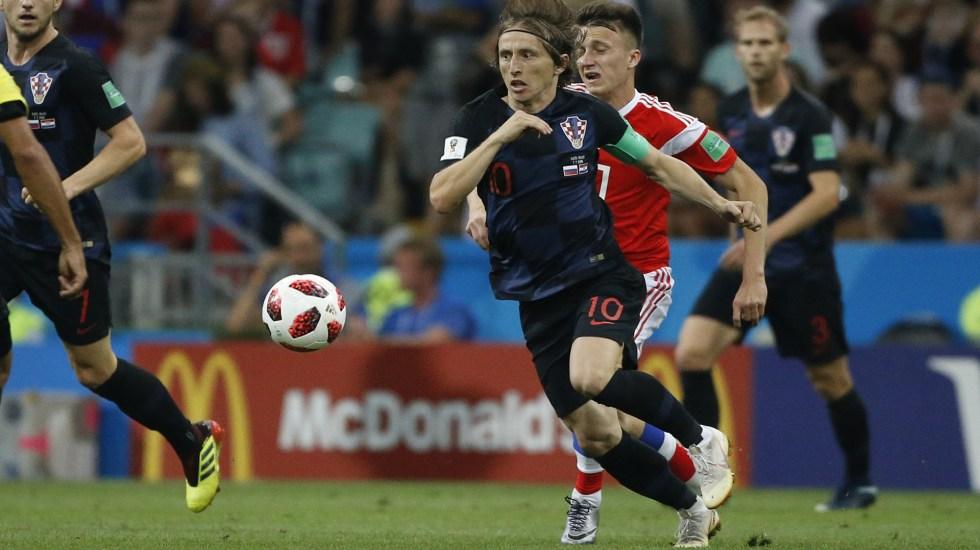 Luka Modric, el talentoso y polémico capitán de Croacia - Foto de Mexsport