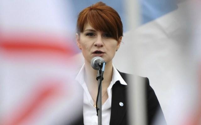 Maria Butina. Foto de AP