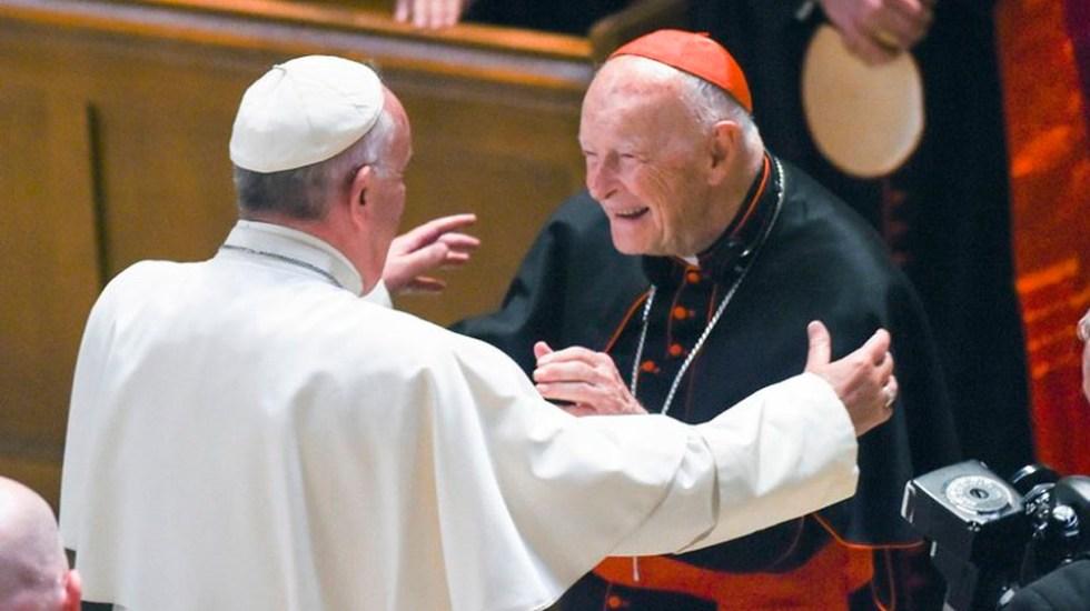 El papa ordena investigación contra el cardenal McCarrick - El cardenal es uno de los personajes de más alto rango acusados de abuso de menores en EE.UU.