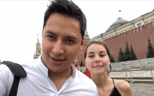 #Viral Mexicano conoce a su esposa en Rusia durante el Mundial - Captura de pantalla Facebook/Miguel Minoru