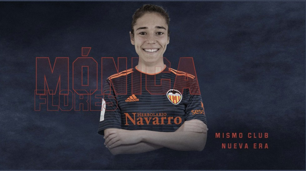 El Valencia contrata a lateral mexicana - Foto de @VCF_Femenino