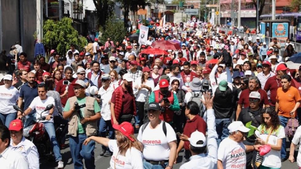 Juntos Haremos Historia triunfa en alcaldías de la Ciudad de México - Foto de @Claudiashein