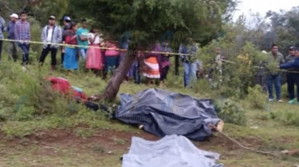 Muere familia de cuatro alcanzada por un rayo en Michoacán - Foto de @Grupo_Marmor