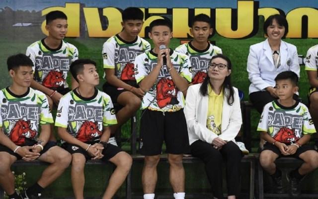 Croacia enviará playeras a niños rescatados en Tailandia - Foto de AFP / Lillian Suwanrumpha