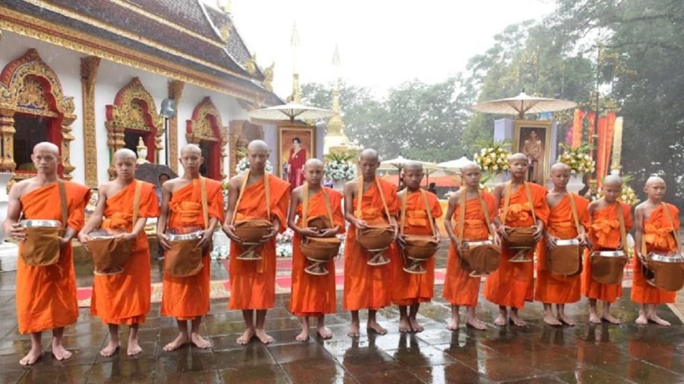 Inicia construcción de museo sobre niños tailandeses atrapados en cueva - Foto de AFP / Panumas Sanguanwong / Thai News Pix