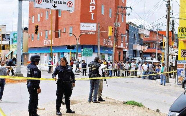 Fin de semana deja nueve asesinatos en Oaxaca y dos lesionados