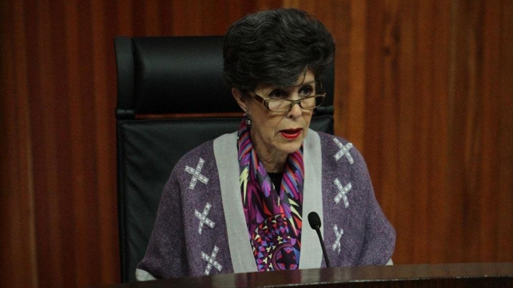 Declaración de AMLO como presidente electo, en agosto: Janine Otálora - Foto de Notimex