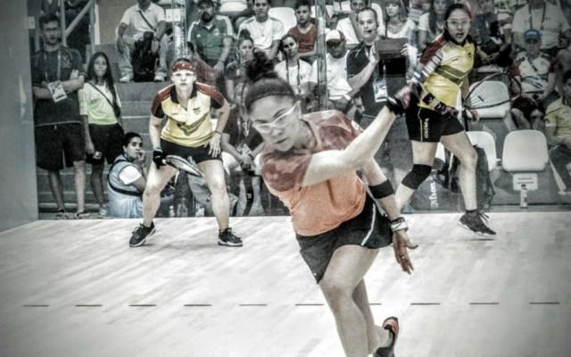 Paola Longoria suma tercer oro en Barranquilla 2018 - Foto de @Conade