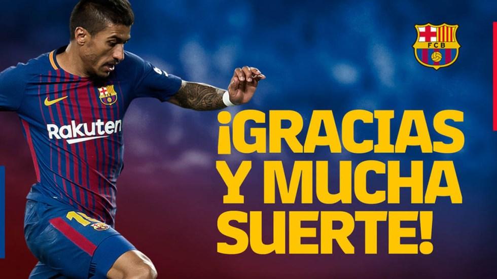 Paulinho regresa al club chino Guangzhou Evergrande - Foto de FC Barcelona
