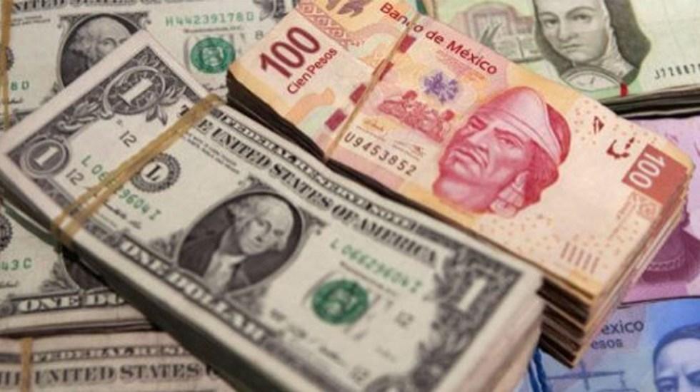 Peso se mantiene estable ante el dólar