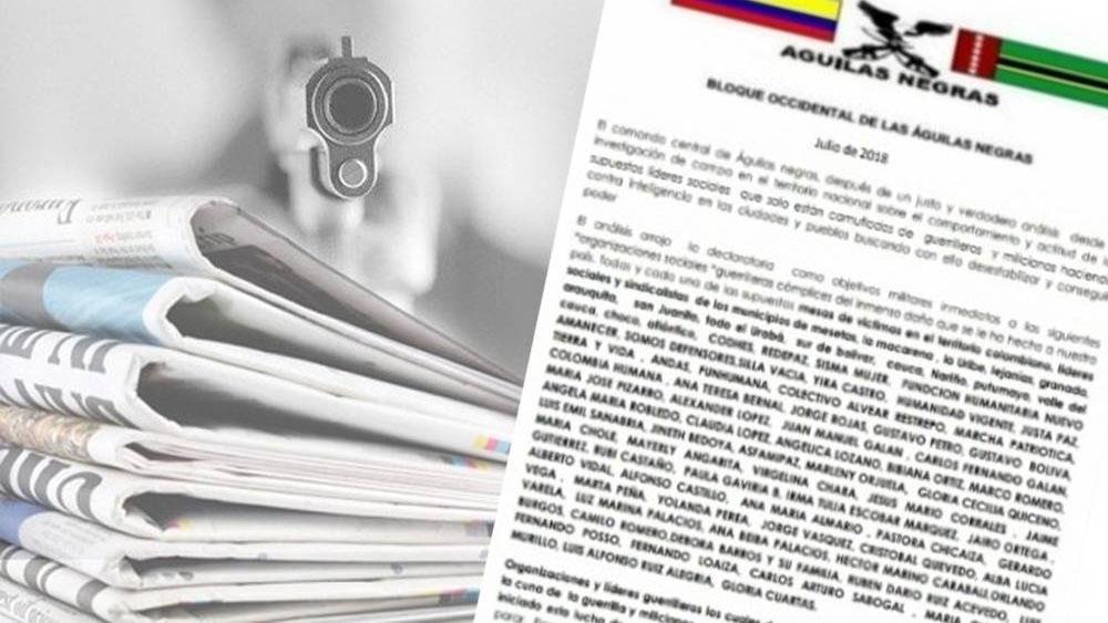 Alertan por amenazas de muerte a periodistas en Colombia - Foto de Semana