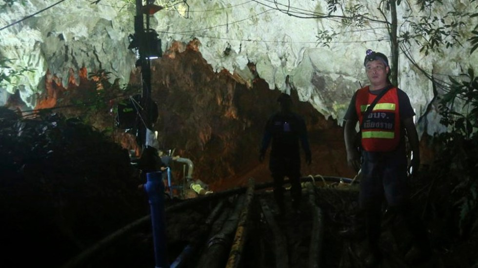 Encuentran vivos a niños perdidos en cuevas de Tailandia tras nueve días - Foto de AP
