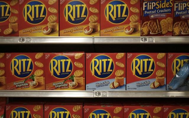 Piden regresar galletas Ritz por riesgo de salmonela - Foto de Internet