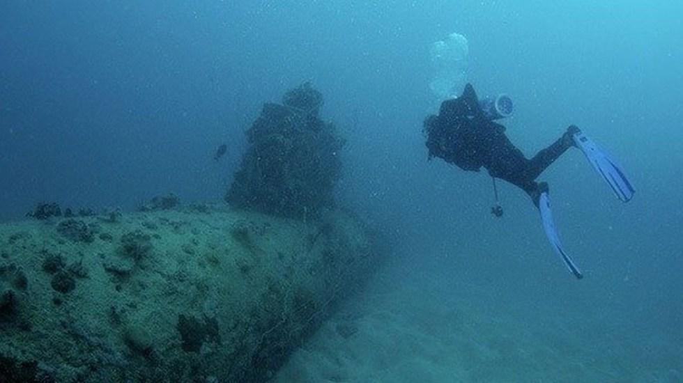 Hallan en mar de Japón submarino de manufactura nazi