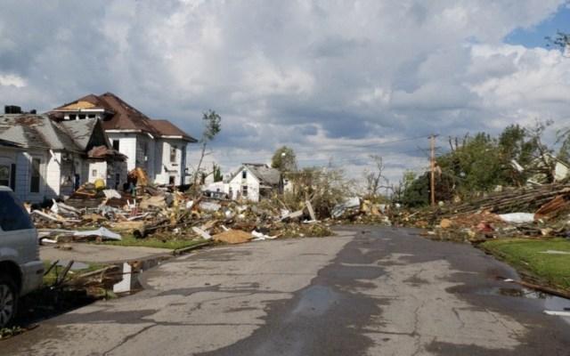 Tornados en Iowa dejan al menos 17 heridos - Foto de Twitter