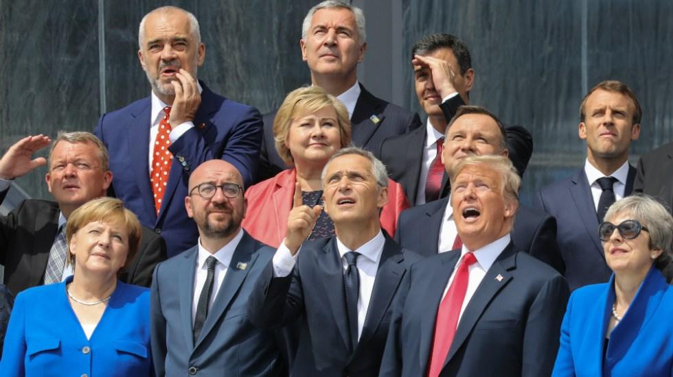 Trump urge a los aliados de la OTAN a duplicar su gasto militar - Foto de AFP