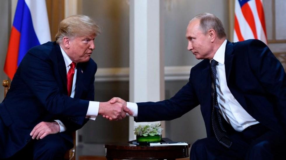 Trump y Putin se reunirán en la cumbre del G20 - Foto de Brendan Smialowski / AFP