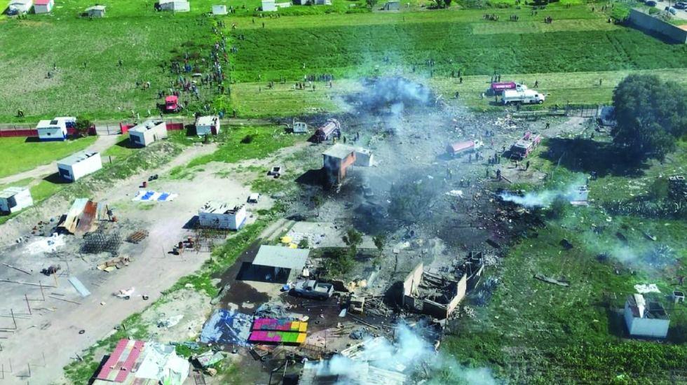 Permanecen en hospital 38 heridos por explosión de Tultepec