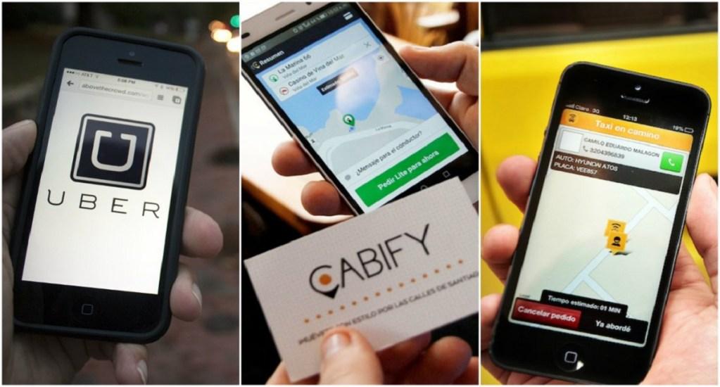 Exigen a Uber y Cabify contar con taxímetro digital en la Ciudad de México - Foto de internet