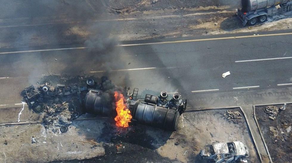Accidente en autopista de Veracruz deja al menos cinco muertos