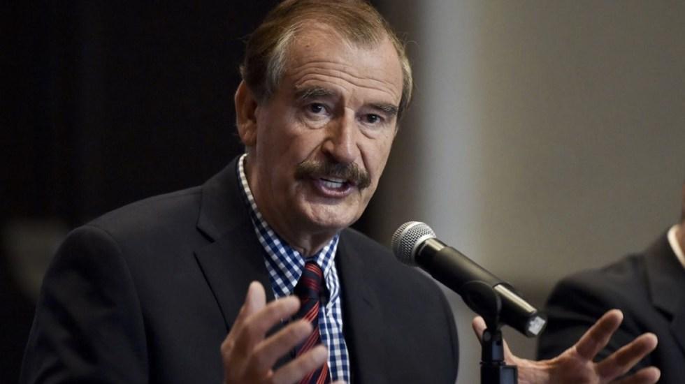 Con gusto cedo mi pensión por el bien de México: Fox - fox afirmó que renunciará a su pension si es por bien de México