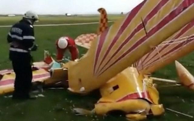 #Video Aviones se estrellan durante práctica de show aéreo en Rumania