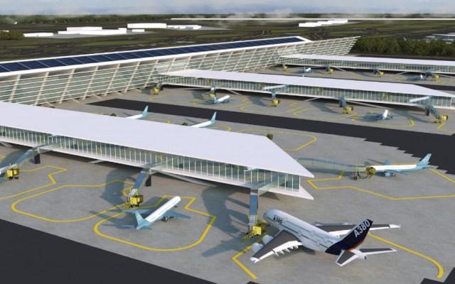 Sergio Samaniego, socio de Riobóo, será encargado del proyecto de Santa Lucía - Proyección del Aeropuerto de Santa Lucía. Foto de Grupo Riobóo