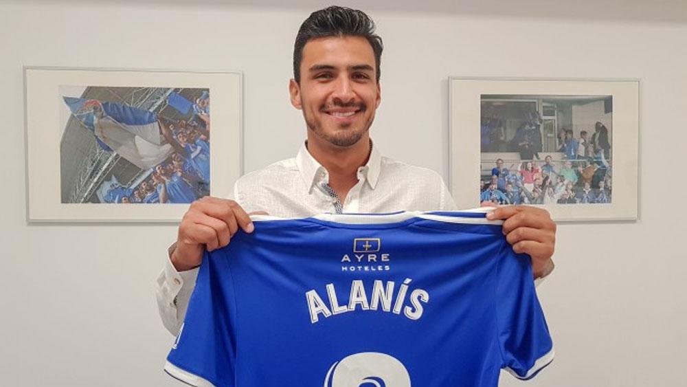 Oswaldo Alanís ficha con el Real Oviedo de España — OFICIAL