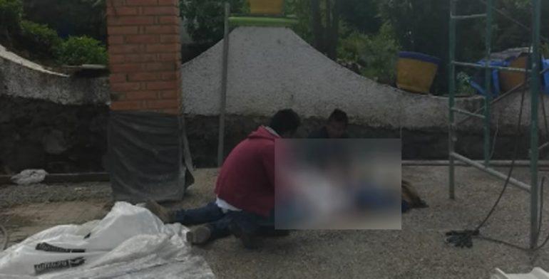 Albañil muere cuando colocaba láminas en un techo en Milpa Alta - Foto de Quadratín