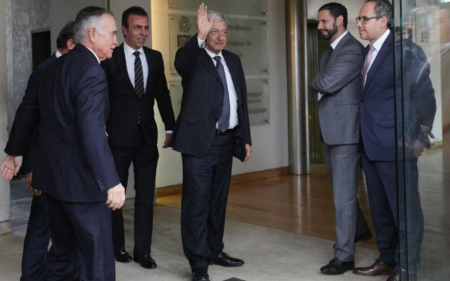 Se reúne AMLO con el Consejo Mexicano de Negocios - Foto de Milenio