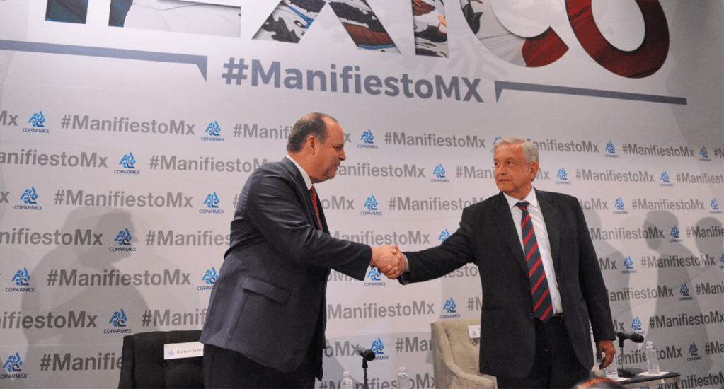 Coparmex se pronuncia a favor de plan de seguridad de López Obrador. Noticias en tiempo real