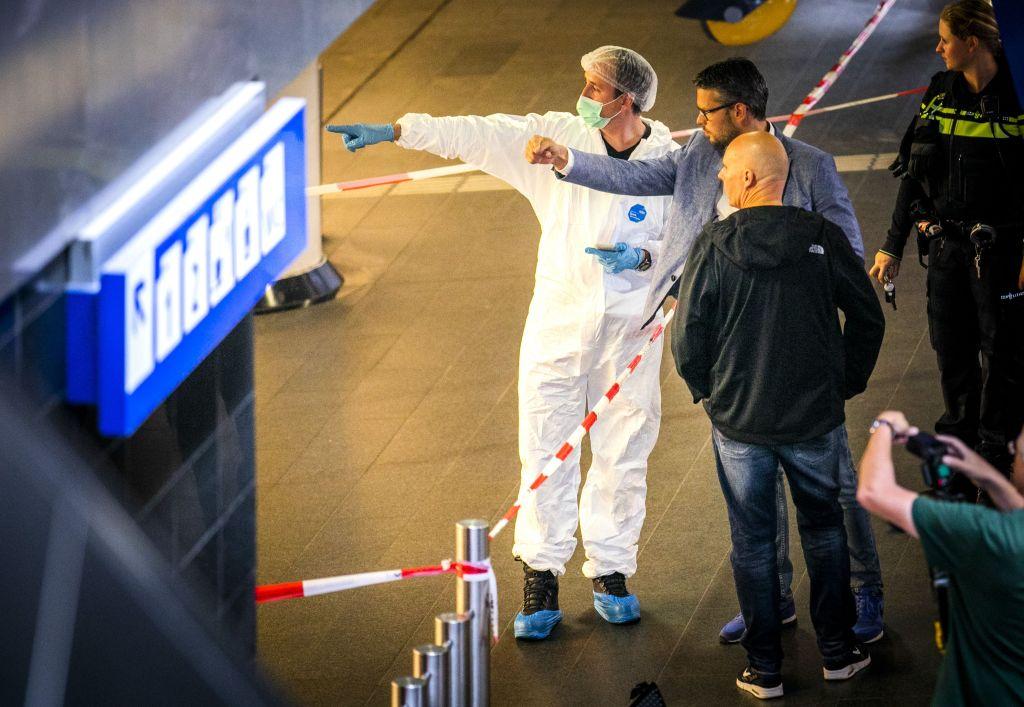 Dos heridos de gravedad en ataque con cuchillo en estación de trenes en Ámsterdam - Foto de AFP