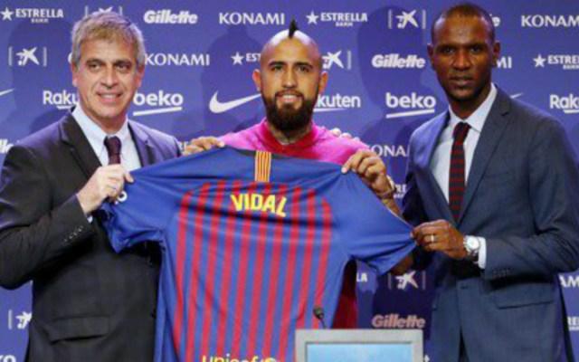 """""""El Barça es un escalón mucho más grande que el Bayern"""": Vidal - Foto de @FCBarcelona_es"""