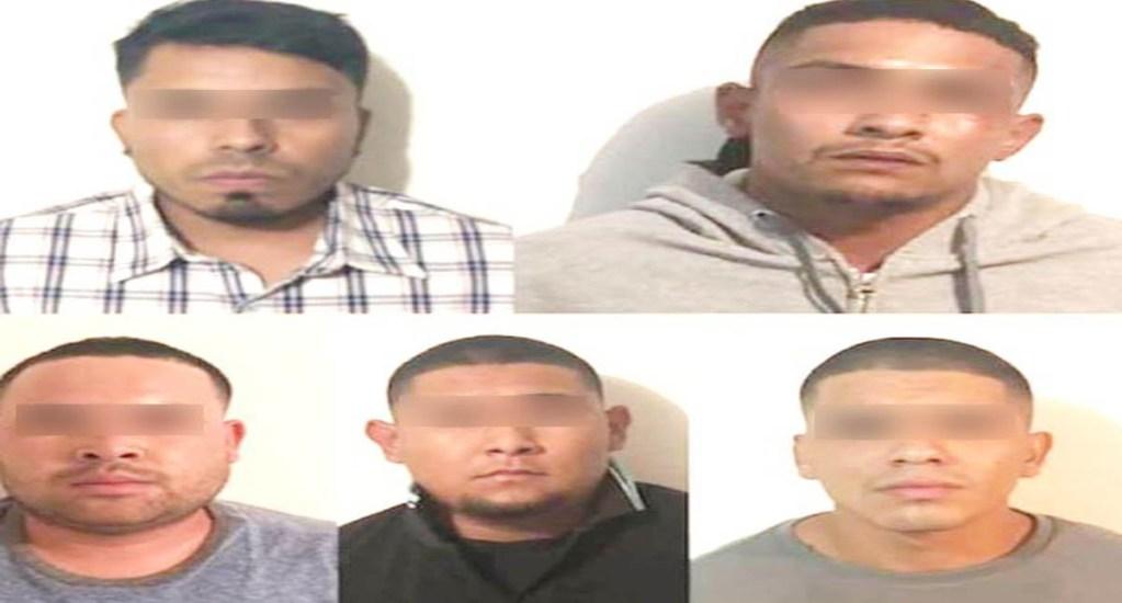 Aseguran a líder y cómplices de grupo criminal de San Luis Potosí - Foto de @alec_diaz_