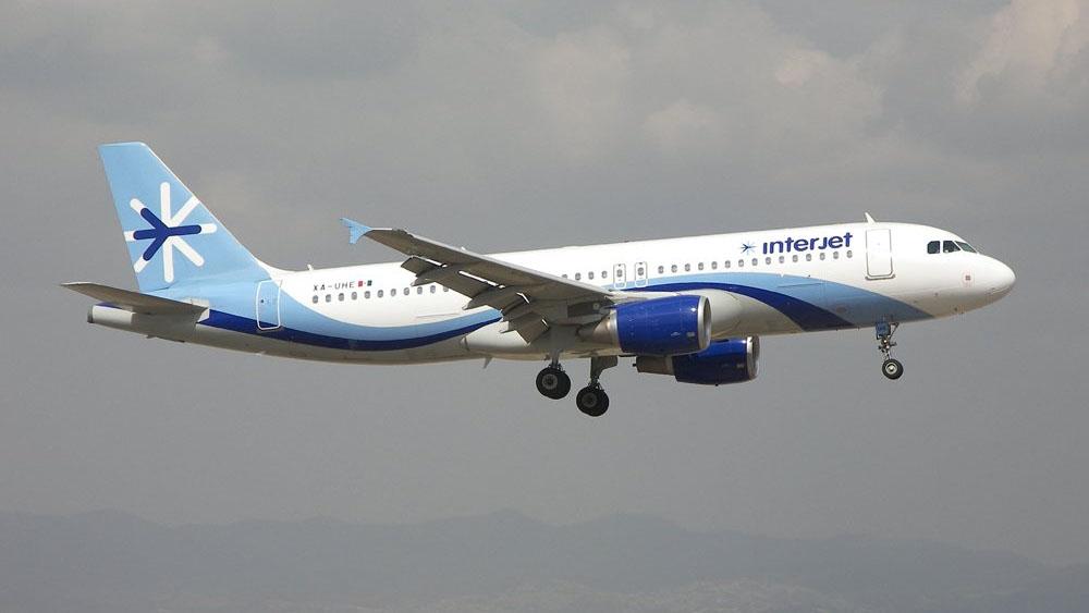 Avión realiza aterrizaje de emergencia en Chiapas