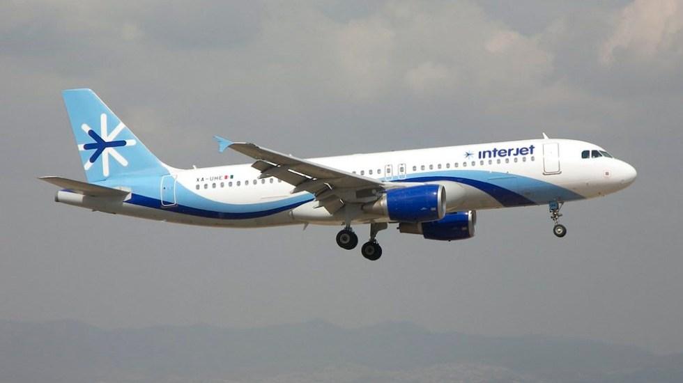 Desvían de emergencia vuelo de Interjet - Foto de fsmex.com