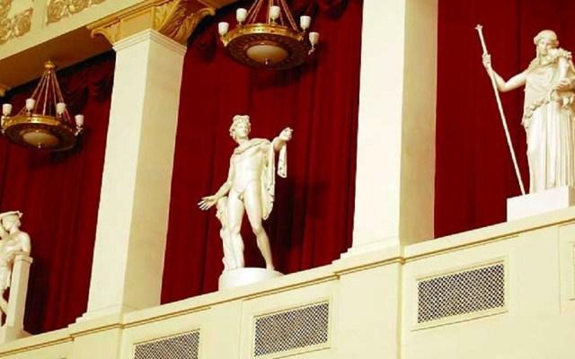 Censuran estatuas desnudas en Academia de Bellas Artes de Rusia - Foto de Twitter