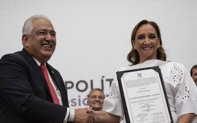 Claudia Ruiz Massieu rinde protesta como presidenta del PRI - Foto de PRI