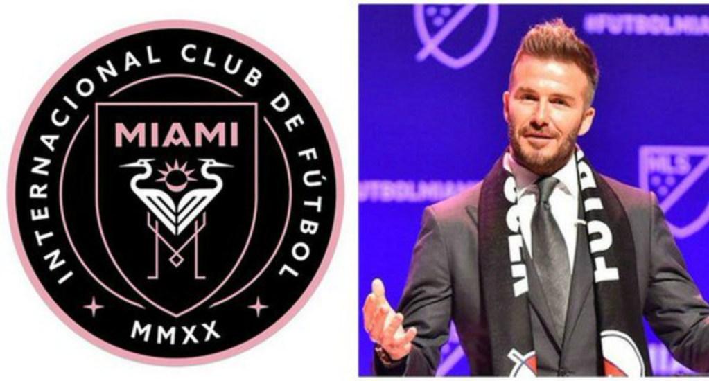 El posible logo del club de David Beckham - Foto de Miami New Times