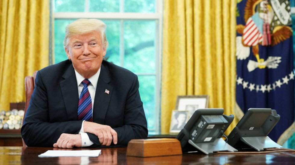 """Me quedé dormido"": Donald Trump sobre discurso de Obama - Foto de AFP"