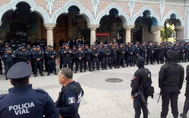 Ejército y Policía Estatal toma el control de la seguridad en Tehuacán - Foto de @SSP_Puebla