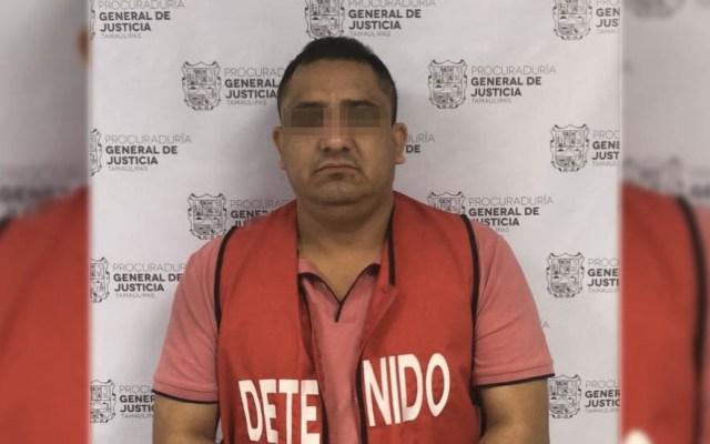 """""""El Pelochas"""" era uno de los más buscados por el Gobierno de Tamaulipas - Foto de PGJ Tamaulipas"""