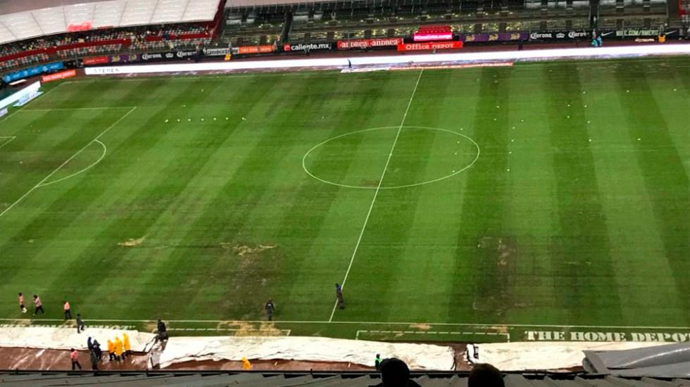América y Cruz Azul podrían dejar de jugar en el Estadio Azteca - Foto de @ricardocarino