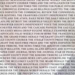 Al menos 200 diarios publican editoriales contra Trump
