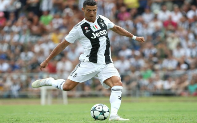 Cristiano Ronaldo anota su primer gol con Juventus - Foto de Internet