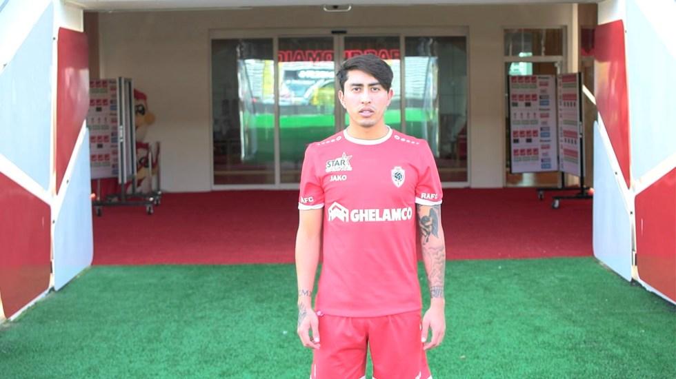 Omar Govea nuevo jugador del Royal Antwerp - Foto de royalantwerpfc.be