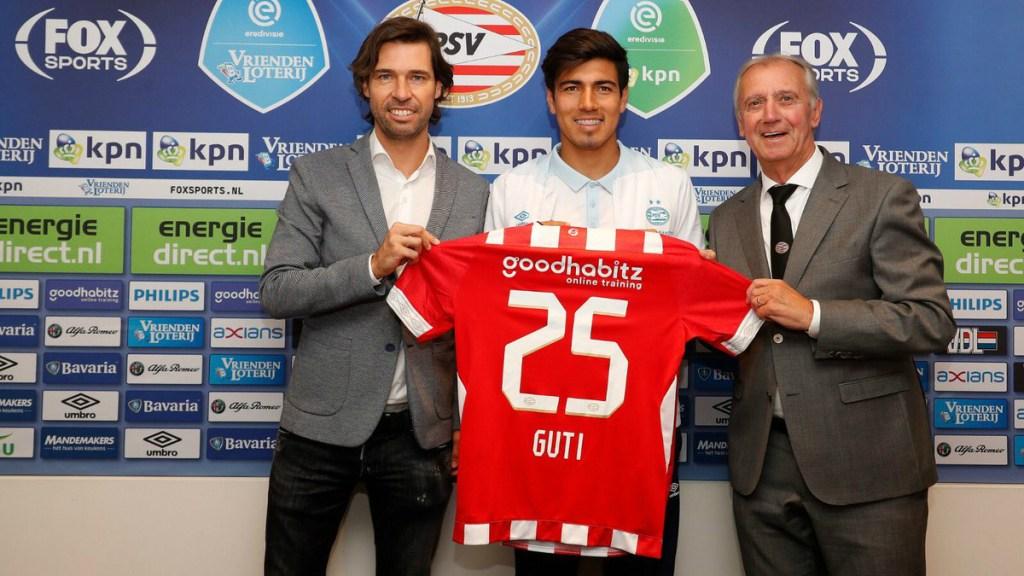 El PSV presenta a Erick Gutiérrez - Foto de @PSV