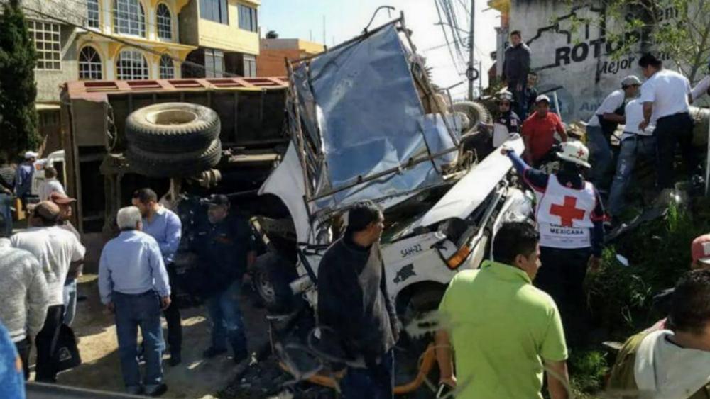 #Video Carámbola deja un muerto en Huixquilucan - Foto de @Huitzquillocan