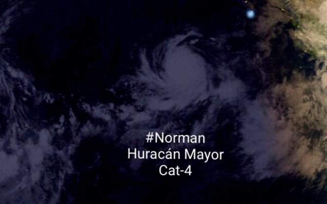 Huracán Norman alcanza la categoría 4 - Foto de @chematierra