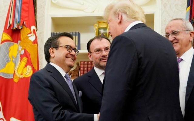 Un paso adelante notificación de acuerdo a Congreso de EE.UU.: SRE - Foto de AFP